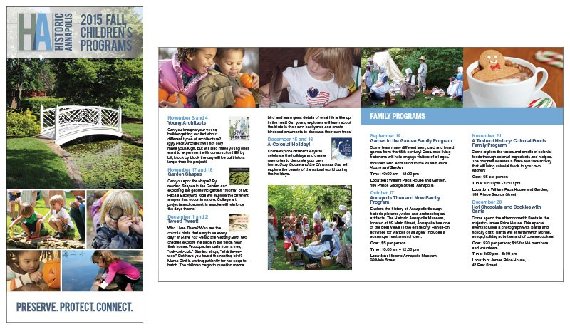 Family Program brochure