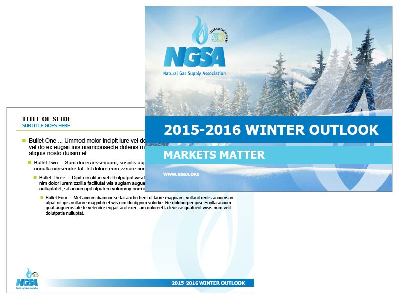 Winter Presentation Template