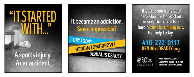 Messaging >> Anne Arundel County Health Department - Maryland Healthcare Opioid Prevention Campaign/Videos
